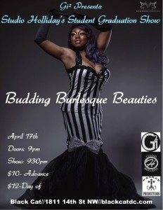 Budding Burlesque Beauties Debut Poster